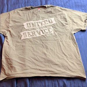 Men's United Parcel Service UPS Shirt Size XL